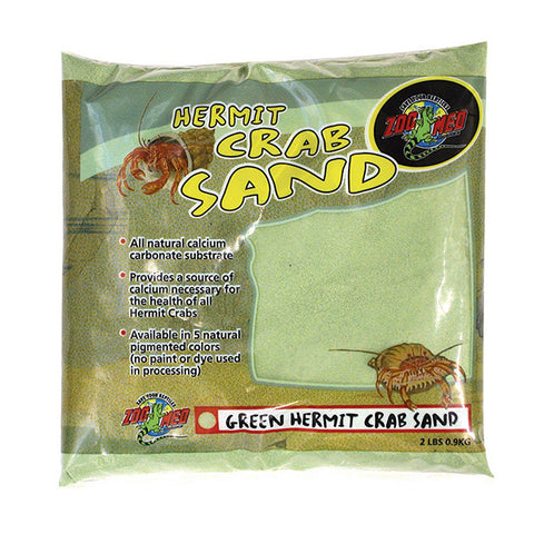 Hermit Crab Sand Green Calcium Substrate