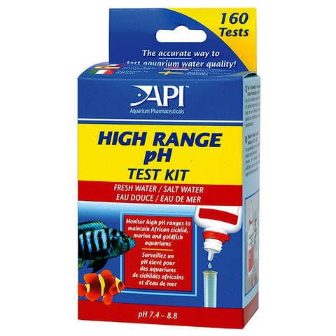 High Range pH Freshwater & Saltwater Test Kit