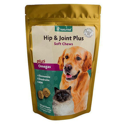 Hip & Joint Plus Omegas Dog & Cat Soft Chews