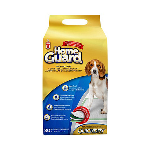 Home Guard Quick Dry Training Pads 30 Pack