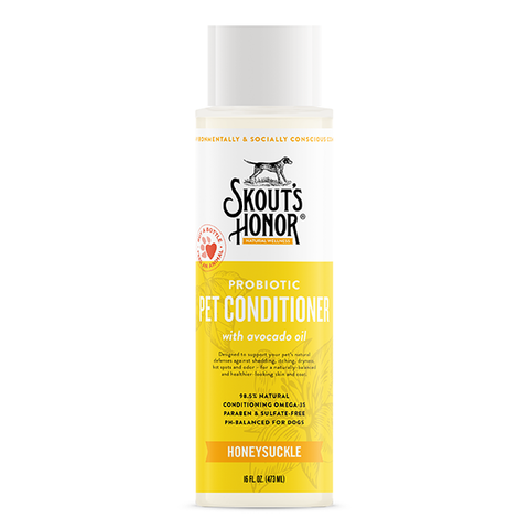Probiotic Honeysuckle Pet Conditioner