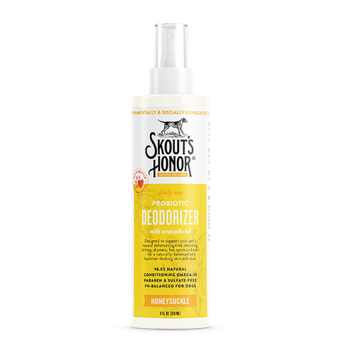Probiotic Honeysuckle Pet Deodorizer Spray