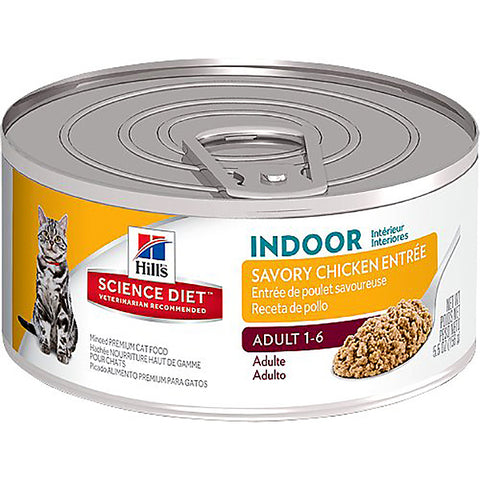 Savory Chicken Entree Indoor Adult Wet Canned Cat Food