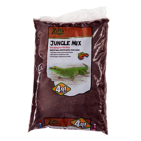 Jungle Mix Fir Bark & Sphagnum Peat Moss Blend Bedding Reptile & Amphibian Substrate