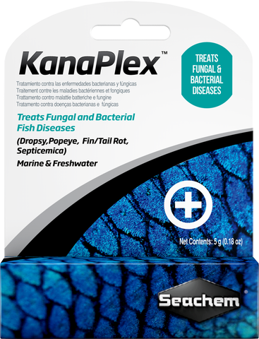 KanaPlex Kanamycin Aquarium Fungal & Bacterial Fish Disease Medication Water Treatment Powder