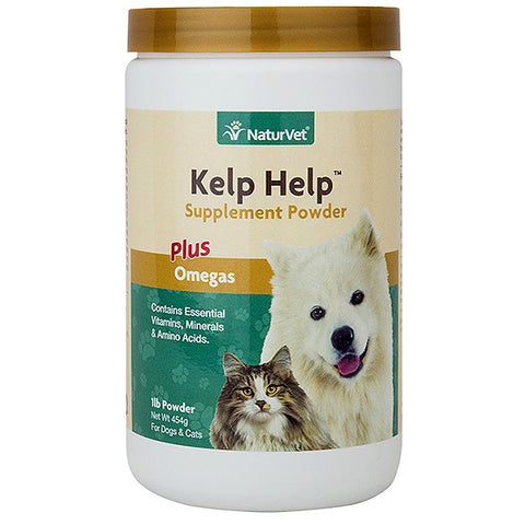 Kelp Help Minerals & Vitamins Plus Omegas Dog & Cat Supplement Powder