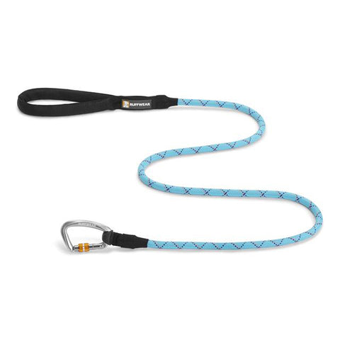 Knot-A-Leash Reflective Rope Dog Leash Blue