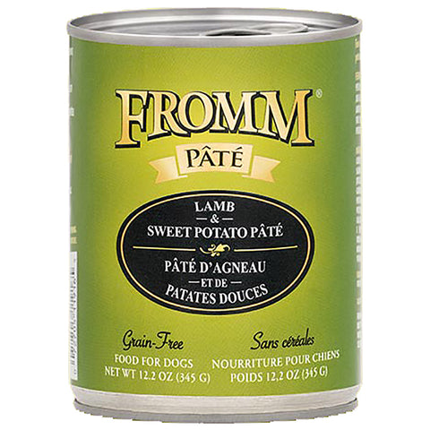 Lamb & Sweet Potato Pate Grain-Free Wet Canned Dog Food