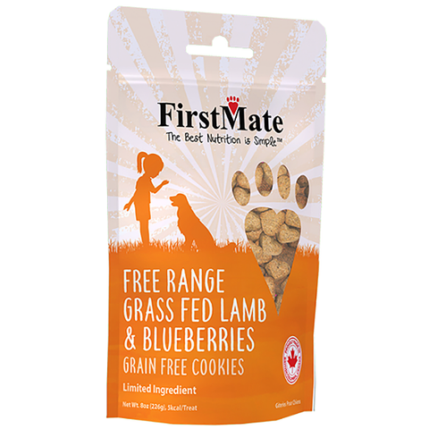 Grass Fed Lamb & Blueberries LID Grain-Free Crunchy Dog Treats