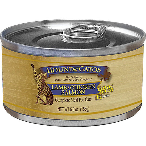 98% Lamb, Chicken & Salmon Formula Grain-Free Wet Canned Cat Food