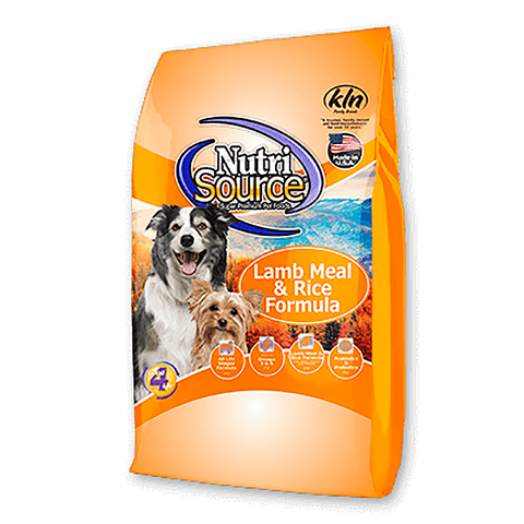 Lamb Meal & Rice Formula Dry Dog Food