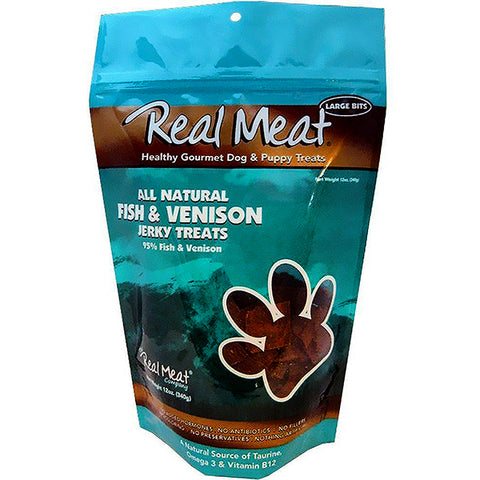 Jerky Large Bitz 95% Fish & Venison Grain-Free Soft Dog Treats