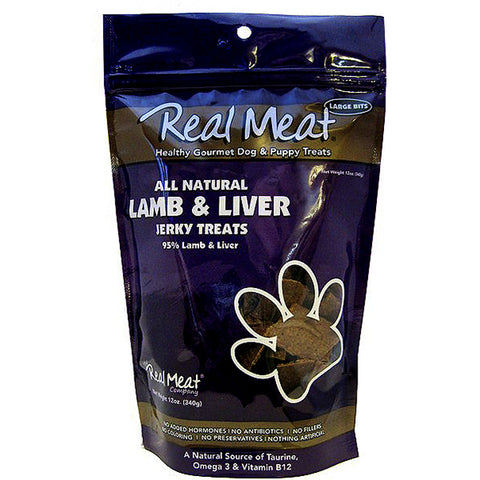 Jerky Large Bitz 95% Lamb & Liver Grain-Free Soft Dog Treats