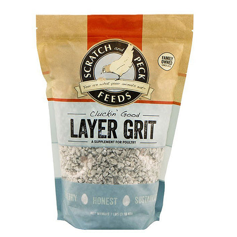 Cluckin' Good Layer Grit Poultry Supplement