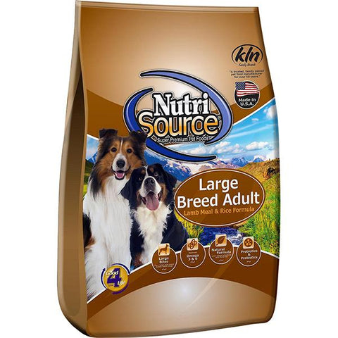 Lamb Meal & Rice Formula Large Breed Adult Dry Dog Food