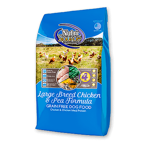 Chicken & Pea Formula Grain-Free Large Breed Adult Dry Dog Food