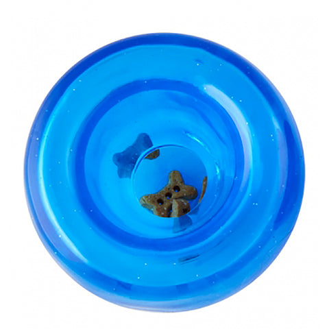 Orbee-Tuff Lil' Snoop Ultra Durable Treat Dispensing Dog Toy For Small Dogs Blue
