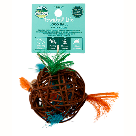 Enriched Life Loco Ball Small Animal Chew & Toy