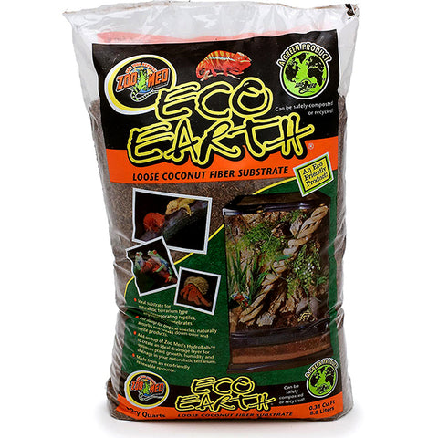 Eco Earth Loose Coconut Fiber Reptile & Amphibian Substrate