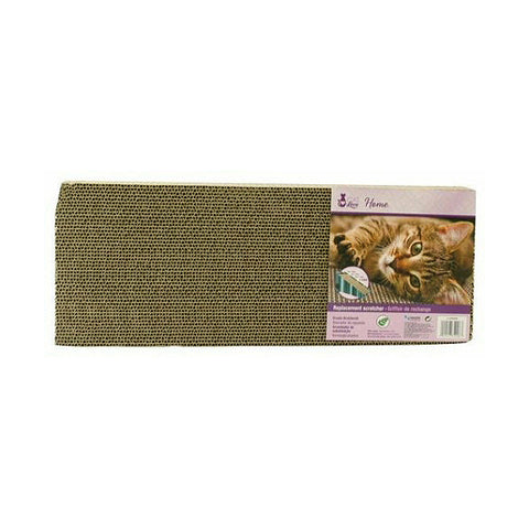 Cat Love Corrugated Cardboard Scratcher with Catnip Replacement for Incline