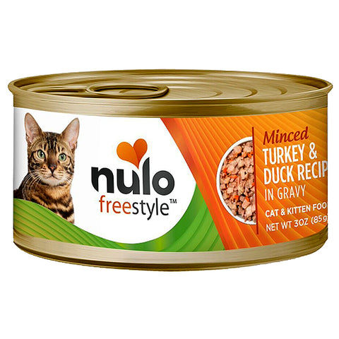 FreeStyle Minced Turkey & Duck Recipe in Gravy Grain-Free Canned Cat Food