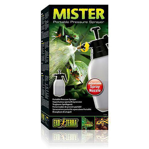 Mister Portable Pressure Sprayer with Adjustable Nozzle for Reptiles & Amphibians