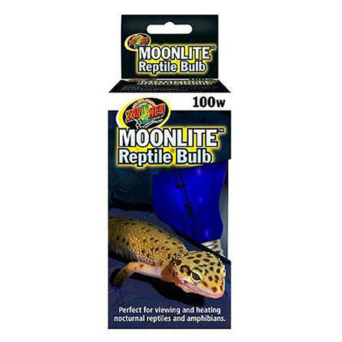 Moonlite Reptile Bulb Blue Nocturnal Light & Heat Emitter 100 Watt