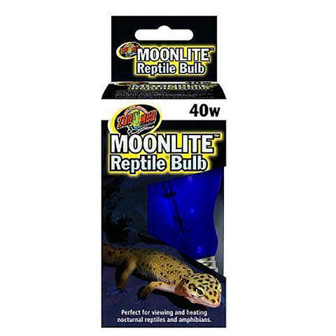 Moonlite Reptile Bulb Blue Nocturnal Light & Heat Emitter 40 Watt