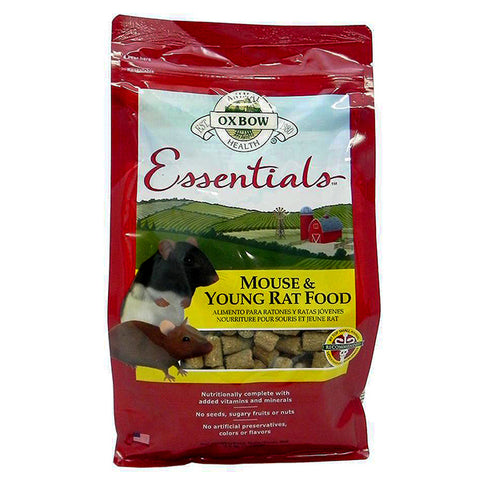 Essentials Mouse & Young Rat Food Block