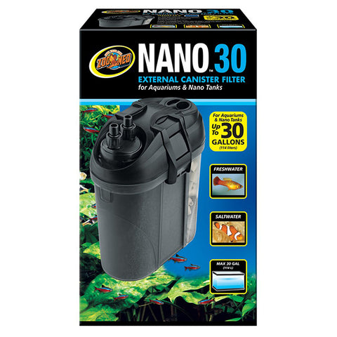 Nano 30 External Canister Aquarium Filter 160 GPH