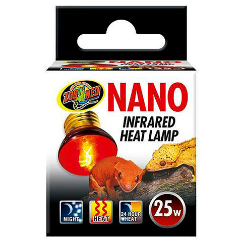 Nano Infrared Lamp Reptile Heat Emitter 25 Watt