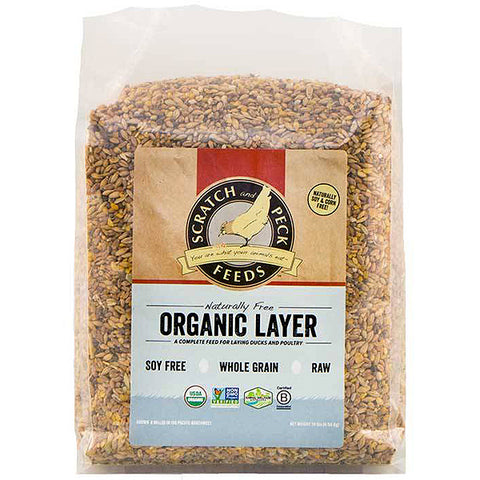 Naturally Free Organic Layer 16% Duck & Poultry Feed