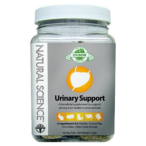 Natural Science Urinary Support Small Animal Supplement High Fiber Hay Tabs