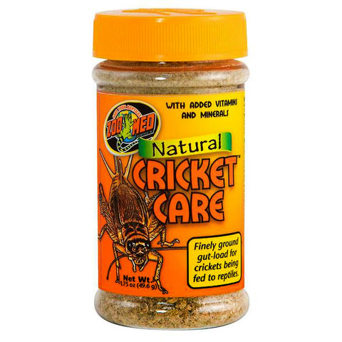 Natural Cricket Care Vitamin & Mineral Fortified Ground Gutloader for Feeder Insects