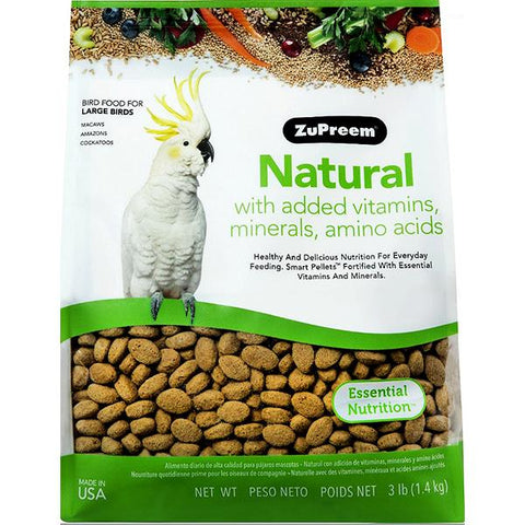 Natural Bird Food Pellets For Large Birds