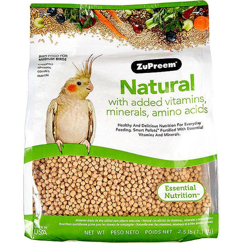 Natural Bird Food Pellets For Medium Birds