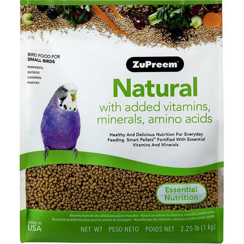 Natural Bird Food Pellets For Small Birds