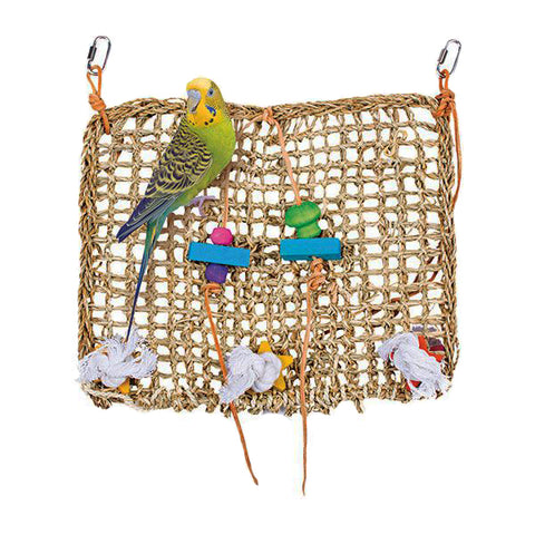 Natural Weave Playground Bird Habitat Addition Toy