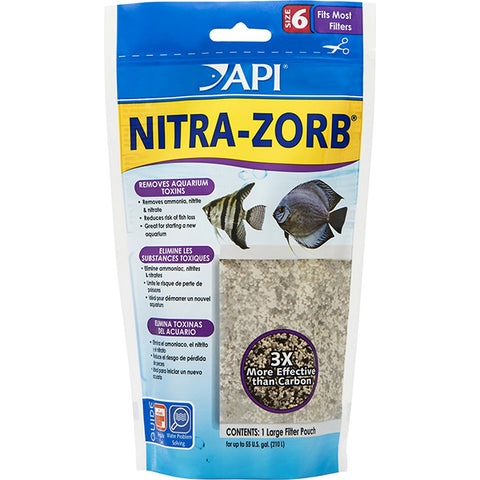 Nitra-Zorb Aquarium Canister Filter Filtration Pouch Size 6