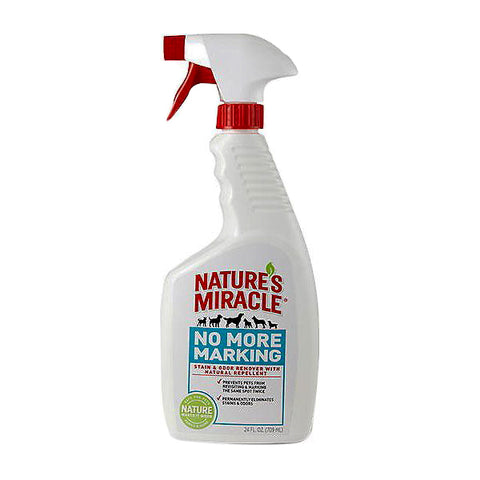 No More Marking Pet Stain & Odor Remover Lemongrass & Cinnamon Scented Spray