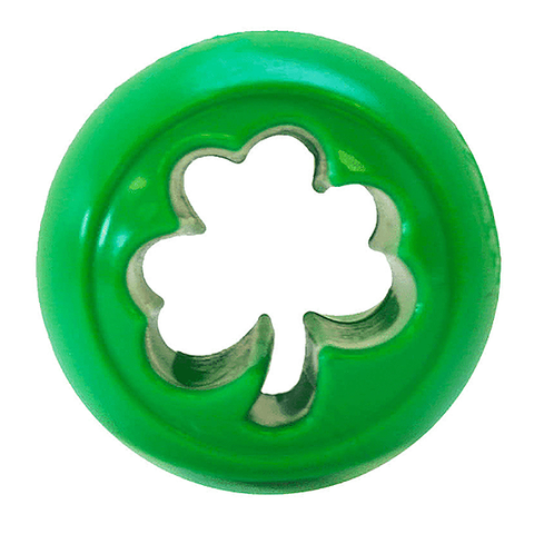 Orbee-Tuff Nook Ultra Durable Treat Stuffer Dog Toy Green Shamrock
