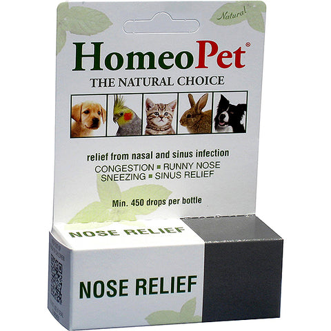 Nose Relief Formula Natural Liquid Drops for All Animals