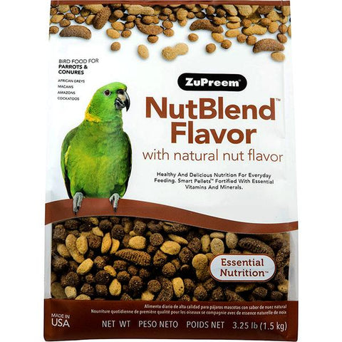 Nut Blend Flavor Bird Food Pellets For Parrots & Conures