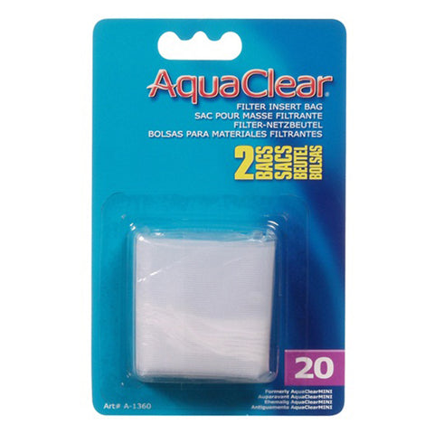 Nylon Filter Media Insert Bag for AquaClear 20 Power Filter