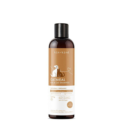 OATMEAL Natural & Organic Dog & Cat Shampoo