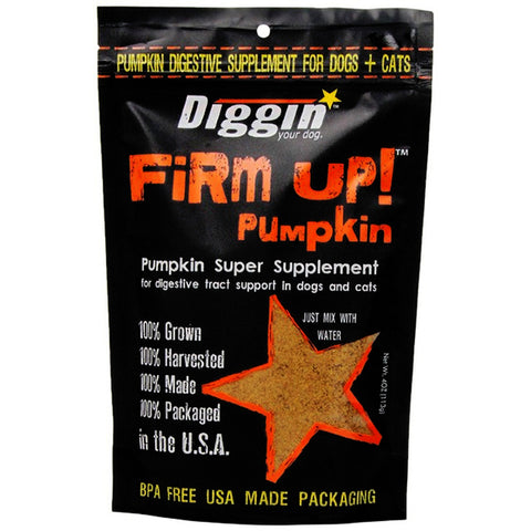 Firm Up! Original Dehydrated Pumpkin Super Supplement for Dogs & Cats