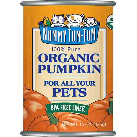 Pure Organic Pumpkin Wet Canned Dog & Cat Food Supplement