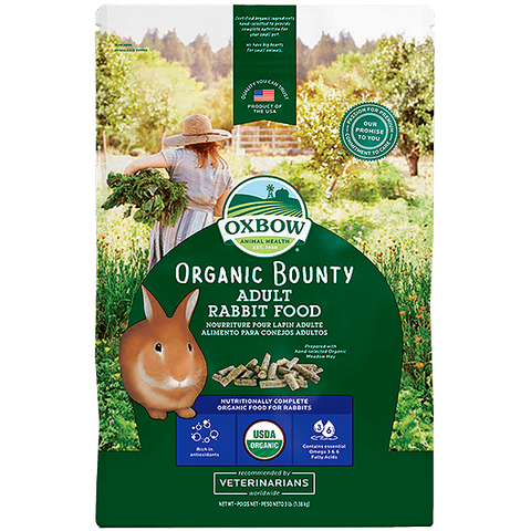 Organic Bounty Rabbit Food Pellets
