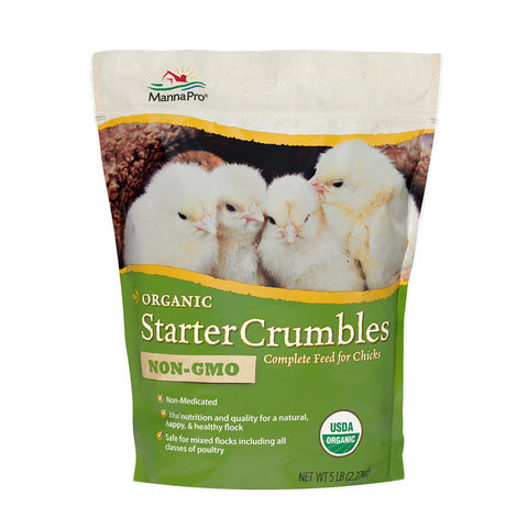 Organic Starter Crumbles Non-GMO Young Poultry Feed