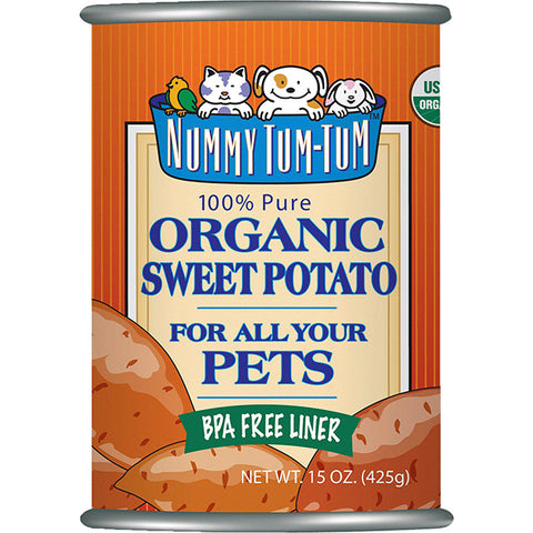 Pure Organic Sweet Potato Wet Canned Dog & Cat Food Supplement